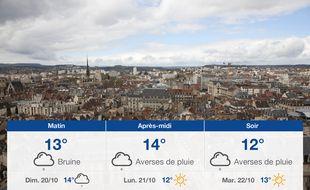Météo Dijon: Prévisions du samedi 19 octobre 2019