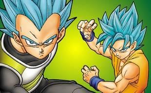 Vegeta et Goku, deux personnages de Dragon Ball