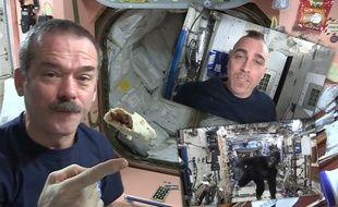 Que se passe t-il dans la station spatiale internationale?
