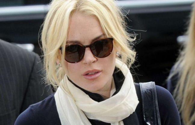 Lindsay Lohan le 22 avril 2011 à Los Angeles