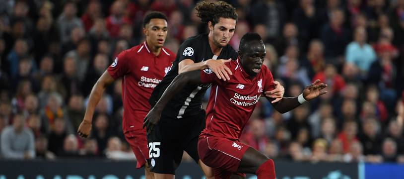 Rabiot face à Liverpool