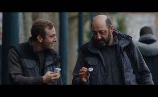 Kacey Mottet Klein et Kad Merad dans Comme des rois de Xabi Molia