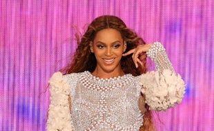 La chanteuse Beyoncé se produisant à Miami en août 2018.