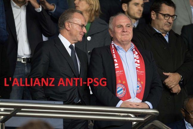 Hoeness et Rummenigge n'aiment pas trop le PSG de QSI