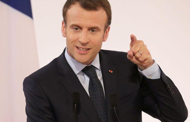 Emmanuel Macron reçoit Justin Trudeau lundi 17 avril 2018 à Paris.