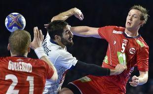 Sander Sogosen et la Norvège avaient bien embêté la France lors du match de poule entre les deux équipes, le 15 janvier 2017 à Nantes.