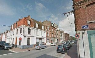 L'agression a eu lieu rue de Bapaume, à Lille.
