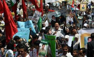 La Croix-Rouge, l'Union européenne (UE) et le gouvernement palestinien ont exprimé mardi leur inquiétude pour les détenus palestiniens d'Israël en grève de la faim, certains depuis plus de deux mois, l'UE appelant à leur fournir l'assistance médicale nécessaire.