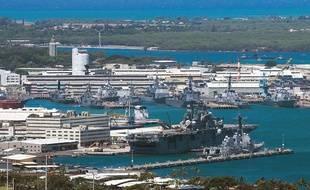 La base de Pearl Harbor-Hickam en 2012.