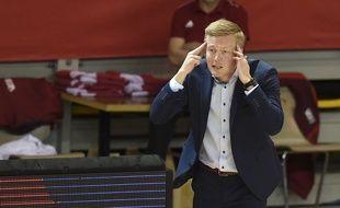 Lassi Tuovi, le coach finlandais de Strasbourg.