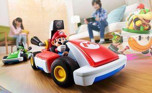 « Mario Kart Live : Home Circuit » transforme votre salon en circuit, et c'est un joyeux bordel