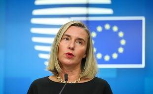 Federica Mogherini, cheffe de la diplomatie européenne a appelé à une désescalade entre Israël et Gaza mardi 12 novembre 2019.