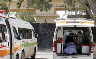 Des ambulances égyptiennes, le 5 décembre 2013. (Illustration)