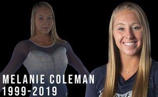 La gymnaste américaine Melanie Coleman est décédée suite à une chute à l'entraînement, le 13 novembre 2019.