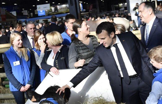 Emmanuel Macron au salon de l'agriculture samedi, mais sans record à battre