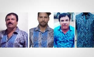 Des photos du narcotrafiquant El Chapo vêtu d'une chemise de BarabasMen.