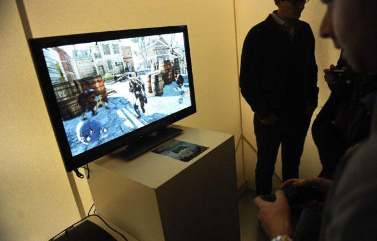 Soiree de lancement du nouveau jeux video Assassin's Creed 3 au Pavillon Wagram à Paris, le 26 octobre 2012 – GHNASSIA ANTHONY/SIPA