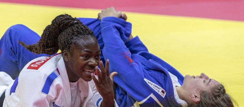 Clarisse Agbegnenou championne du monde pour la cinquième fois