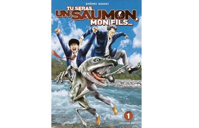 «Tu seras un saumon mon fils», l'histoire d'un lycéen de 15 ans et de son fils, mi-homme mi-saumon