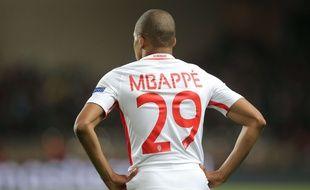 Kylian Mbappé lors de Monaco-Juventus en demi-finale de Ligue des champions, le 3 mai 2017.