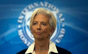 Christine Lagarde au FMI à Washington, le 19 février 2016