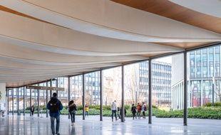 Université Pierre et Marie Curie (Paris-VI),le 13 mars 2020.