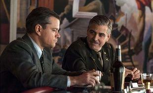 Matt Damon et George Clooney dans