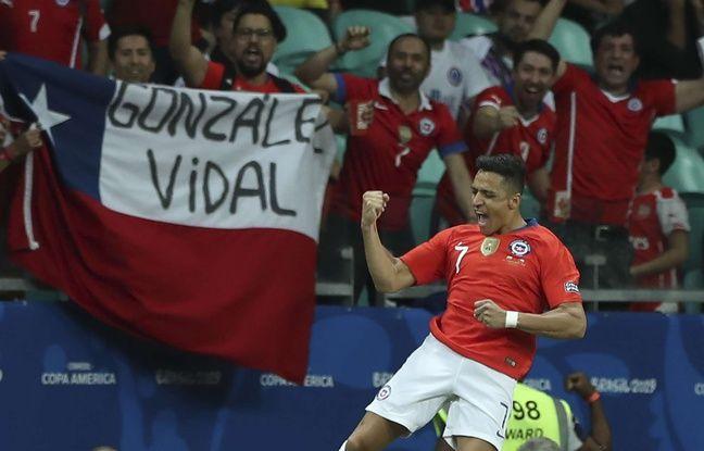 Copa América: Alexis Sanchez envoie le Chili en quarts de finale