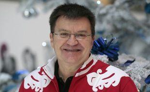 Patrick Montel, lors des JO de Sotchi en 2014.
