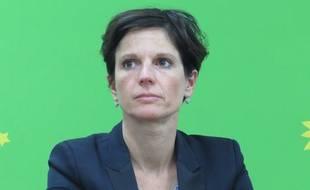 A Villeneuve d'Ascq, le 19 août 2015 - Portrait de sandrine Rousseau, candidate (EELV) à l'election regionale en 2015.