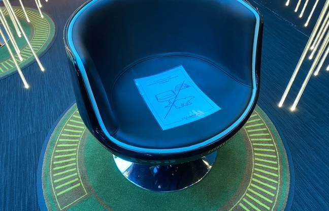 Un fauteuil sur deux reste neutralisé jusqu'à nouvel ordre.
