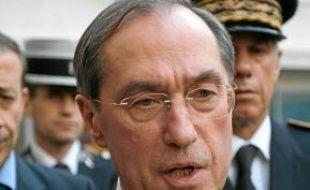 Claude Guéant, hier, à Marseille.