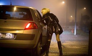 Illustration d'une prostituée.
