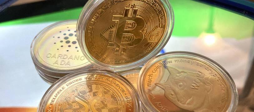 Le bitcoin (Illustration)