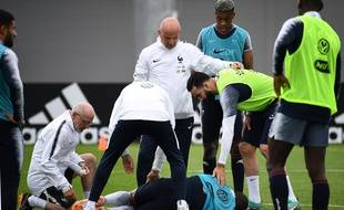 Adil Rami au chevet de Kylian Mbappé