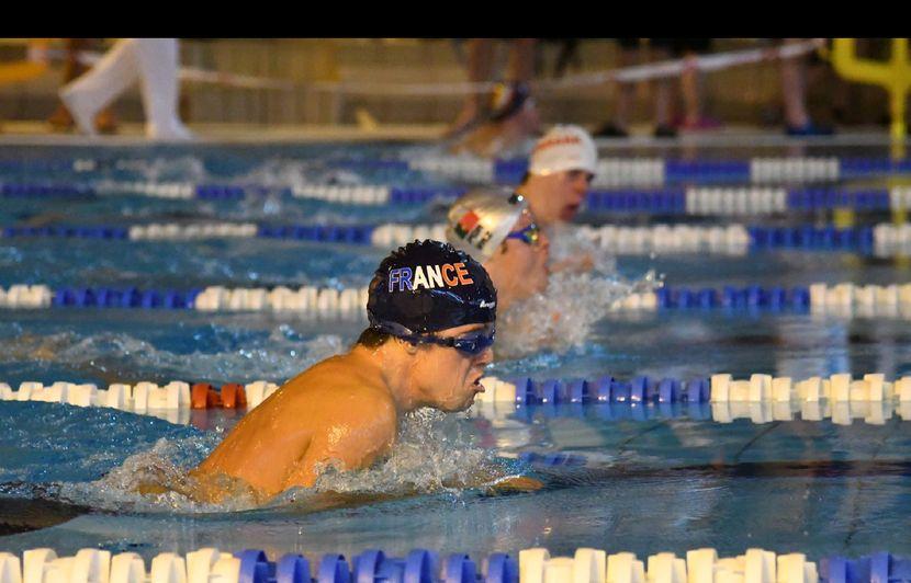 Nice: Rafael Dutay, un chromosome en plus et un titre de champion du monde de natation