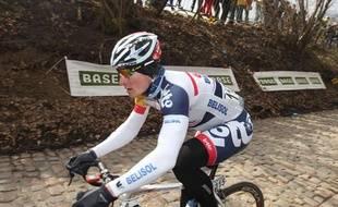 Le coureur allemand Andre Greipel, lors du Tour des Flandres le 31 mars 2013.