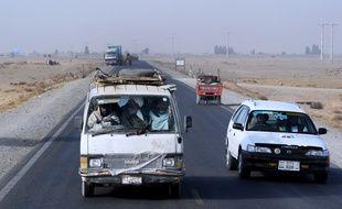 La route de Kandahar (illustration).