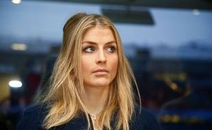 Therese Johaug, durant son audition à Oslo, le 25 janvier 2017