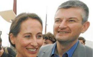 L'une des dernières photos, en 2007 à l'université du PS à La Rochelle, où Royal et Farloni apparaissent ensemble.