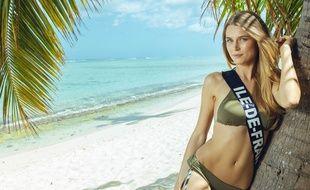 Alice Quérette, Miss Ile-de-France 2018, est l'une des favorites du concours Miss France.