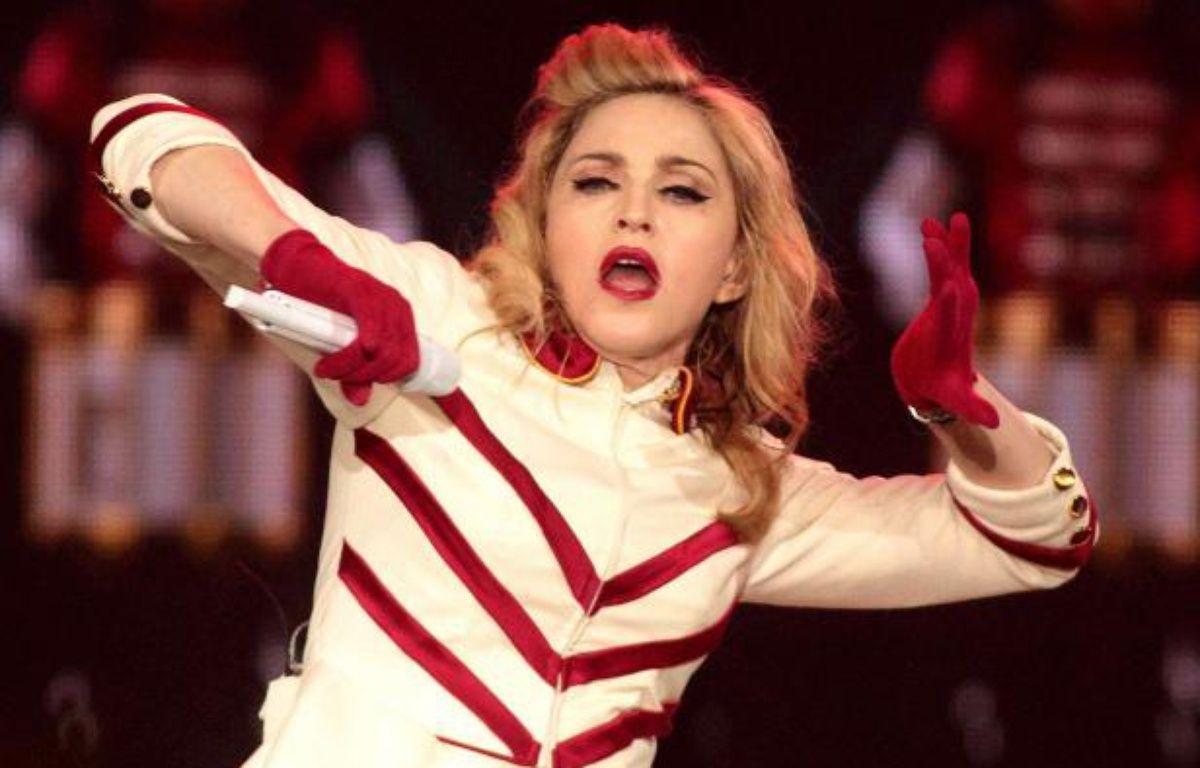Madonna, lors d'un concert à Washington, le 23 septembre 2012. – Owen Sweeney / Rex Feat/REX/ SIPA