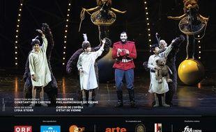 Affiche du film La flûte enchantée (Festival de Salzbourg-FRA Cinéma)