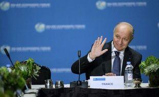 Laurent Fabius au Major Economies Forum on Energy and Climate(MEF), le 29 septembre 2015 à New York