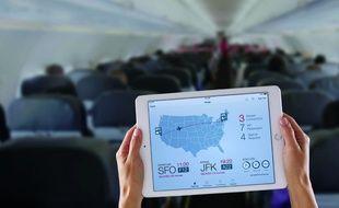 Une app de transport aérien conçue par Apple et IBM.