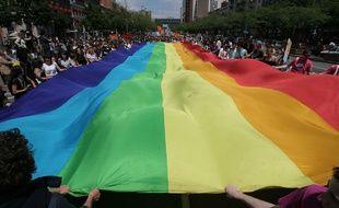 La marche des fiertés, LGBT, à Toulouse.