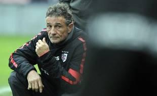 Guy Novès, l'entraîneur du Stade Toulousain, le 23 novembre 2013.