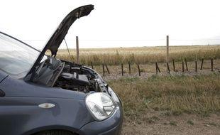 Une panne de voiture