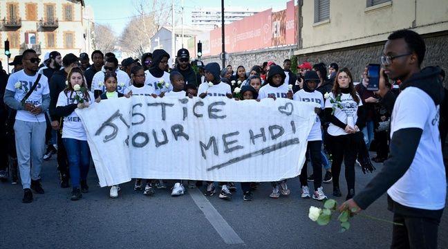 300 personnes ont défilé dans les rues de la cité Maison-Blanche pour Mehdi