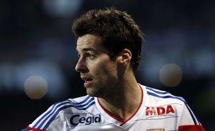 Yoann Gourcuff, le 22 février 2015 lors d'un match de Lyon face à Nantes.